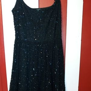 Vintage 90's Betsey Johnson Sequin Dress 6